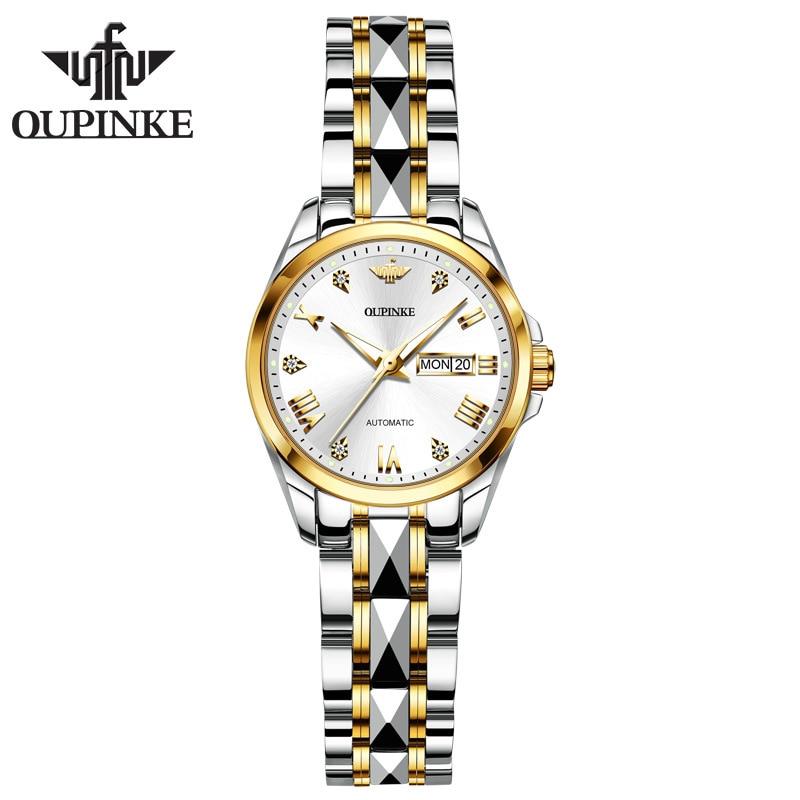 New women's watch waterproof automatic mechanical watch ladies watch women enlarge