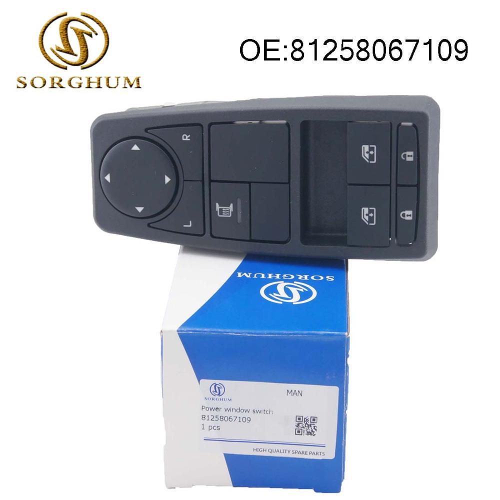 De espejo de ventana de interruptor para MAN TGS TGX TGA camión 81258067109, 81258067064, 81258067082, 81258067094
