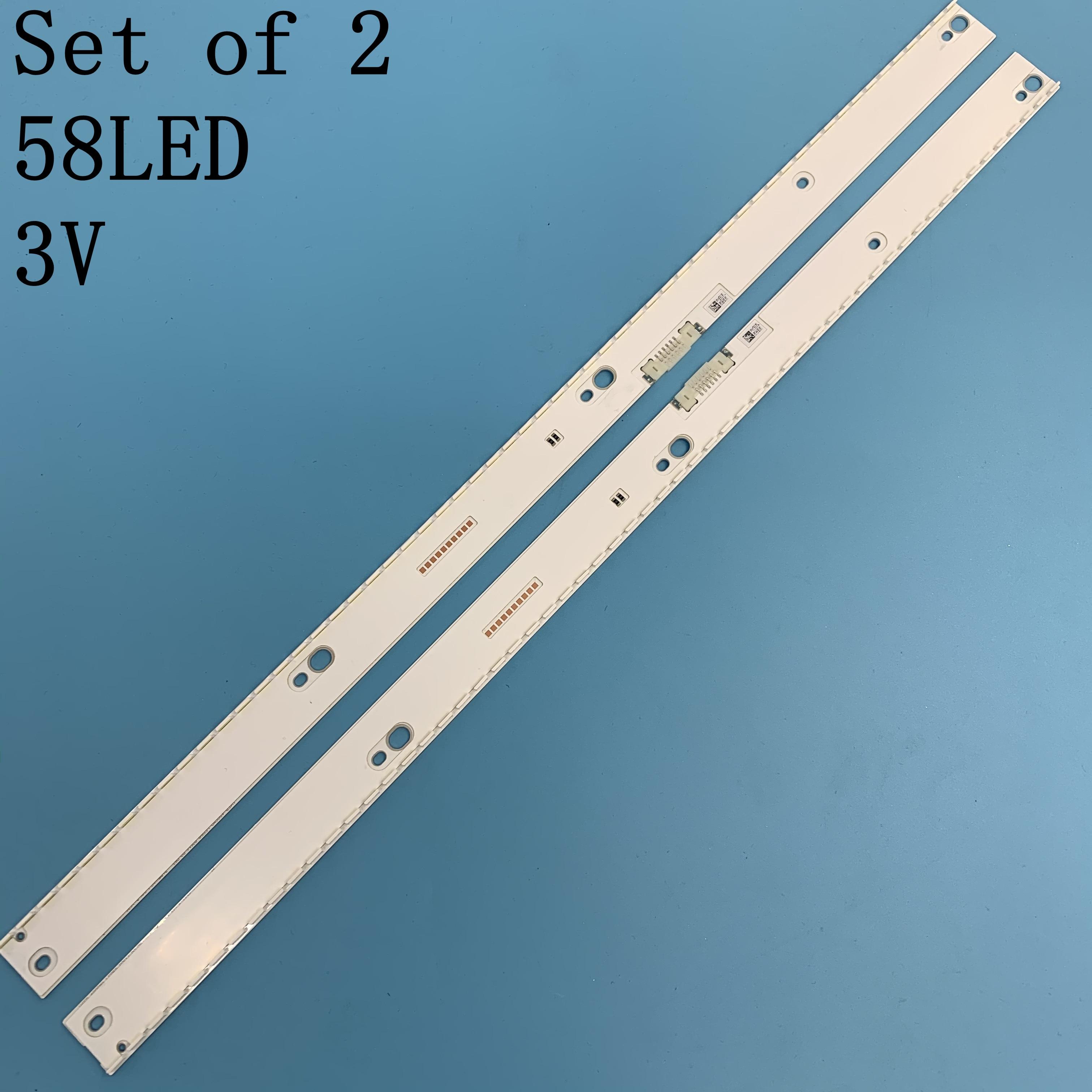 جديد LED الخلفية قطاع لسامسونج UE49KU6450 UE49KU6452 UE49KU6459 UE49KU6400 UE49MU6500 UE49MU7400 UE49KU6670U UE49KU6500