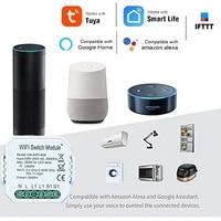 Mini Module intelligent de commutateur de WiFi pour la vie intelligente commande vocale a telecommande dapplication de Tuya minuterie fonctionnent avec Alexa Google Home IFTTT