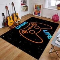 kid cartoon game controller carpet for living room non slip absorbent study mat 120x160cm home decor small area rug dropshipping