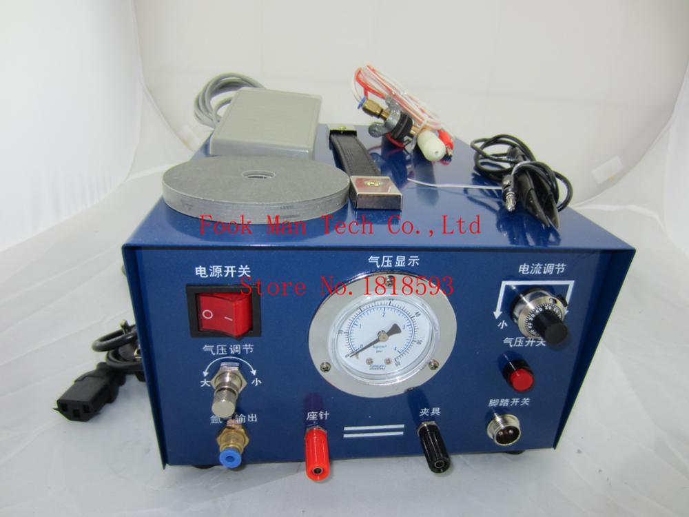 Jeweler-آلة لحام الأرجون المحمولة ، آلة لحام البقعة النبضية ، معالجة المجوهرات الذهبية والفضية