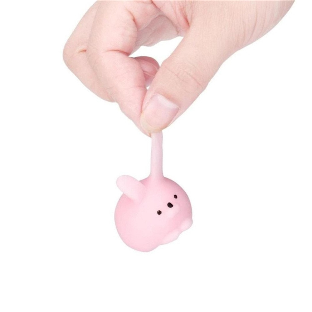 25PC Squishyies Cute Mochi Cat Squeeze Healing Fun Kids Kawaii Toys Squishy Stress Reliever Fidget Toys антистресс для рук W* enlarge