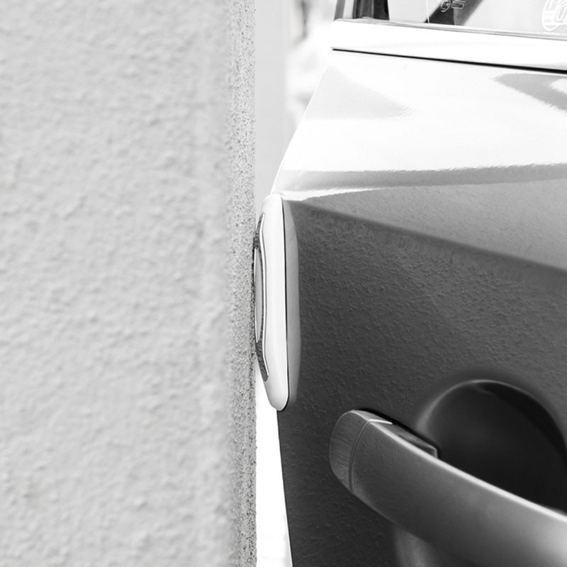 Купить с кэшбэком Car Door Anti-collision Sticker ABS Bumper Protector Cover For Mitsubishi Asx Accessories 2005 2014 2015 2016 2019 2020