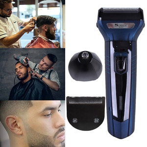 Mini Hairdresser Electric Shaver Razor hair clipper nose hair clipper Men Razor Rechargeable Electric Push-and-Cut shaver #0903