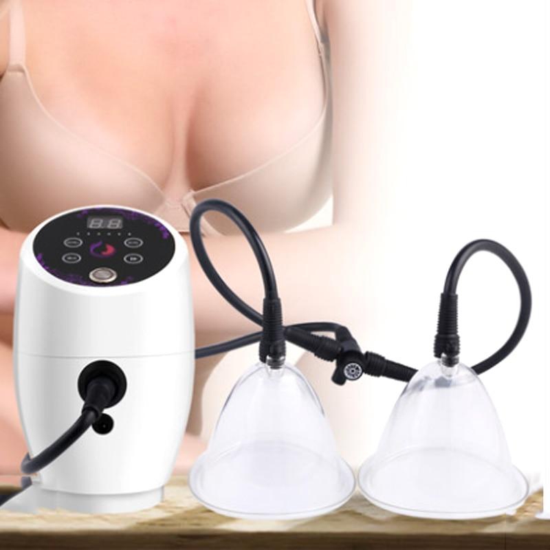 الكهربائية فراغ العلاج آلة مدلك الثدي الثدي الصدر تدليك توسيع الثدي الرعاية الجمال الجسم الحجامة جهاز