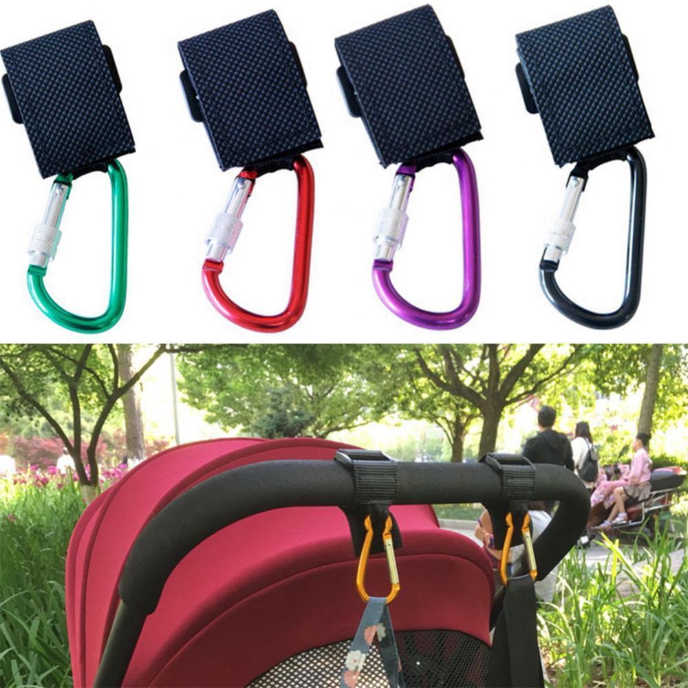1pc Baby Stroller Accessories Multi Purpose Baby Stroller Hook Shopping Pram Hook Prop Hanger Metal Convenient Hook Accessories