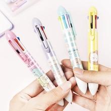 7 Colors Kawaii Sumikko Gurashi Square Writing Ballpoint Pen Students Office Signature Pen Creative School Stationery Supplies
