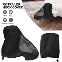 caravan hitch cover waterproof trailer rain snow dust protector dustproof protector for rv tailer caravan accessories