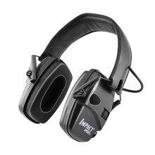 Anti-lärm Auswirkungen Sound Verstärkung Elektronische Schießen Ohrenschützer Taktische Jagd Hören Schutzhülle Headset