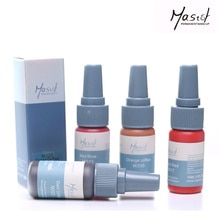 Mastor permanente maquillaje tatuaje tinta, pigmento líquido orgánico puro 1/2Oz (15 ml) para cejas/tinta de tatuaje para labios