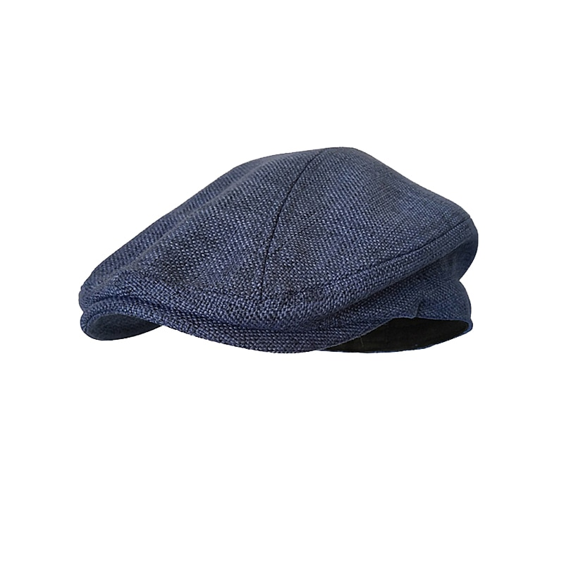 Women's Berets Spring Outdoor Breathable Flat Hats Womens Mens Ivy Cap Solid Color Duckbill Hats Vintage Gatsby Beret Hat BLM211