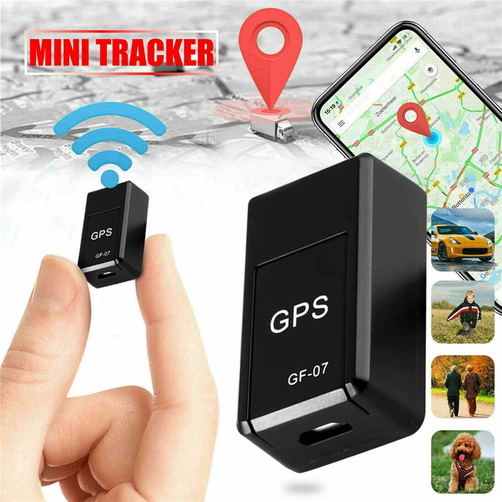 GF-07 Mini GPS Long Standby Magnetic SOS Tracker Locator Device Voice Recorder Handheld Portable Car GPS Trackers