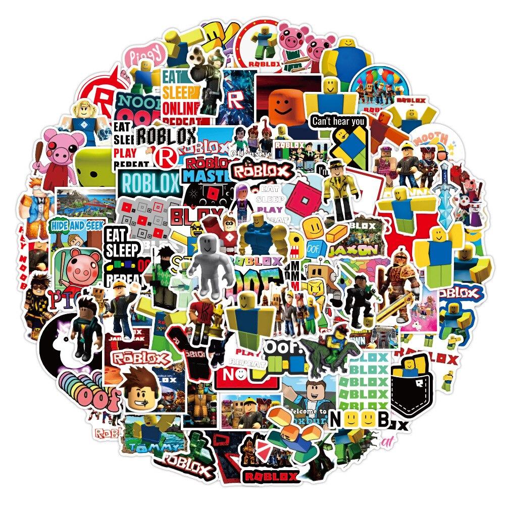 102-pz-creazione-di-gioco-adesivi-roblox-cartoon-anime-decalcomanie-in-pvc-impermeabili-tazza-del-telefono-fai-da-te-skateboard-bagagli-album-regalo-giocattolo-per-bambini