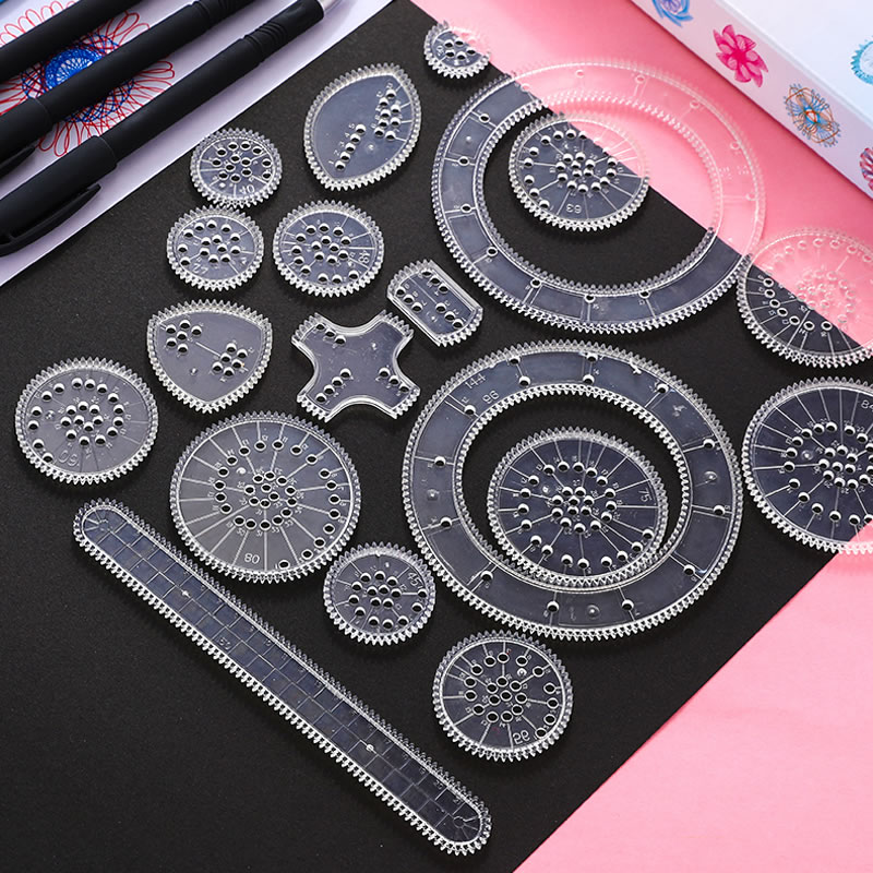 3d spirograph desenho brinquedos conjunto crianças para a criatividade engrenagens bloqueio rodas pintura acessórios criativo brinquedo educativo