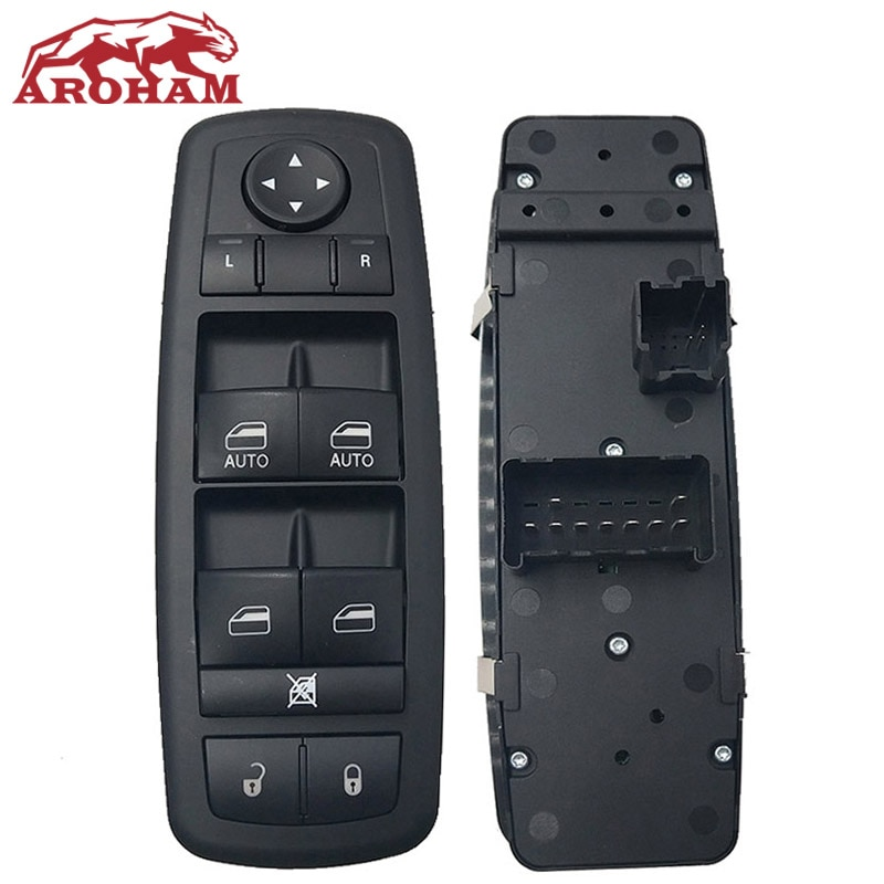 4602533af 68110866aa frente esquerda interruptor da janela de controle de energia mestre elétrica para dodge para jeep 2007-2012 nitro viagem liberdade