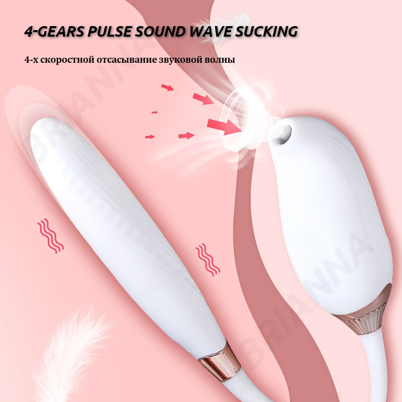 Sucking vibrator for women Bendable Silicone heating G-spot clitoris Stimulator usb nipples sucker adult sex toys for women