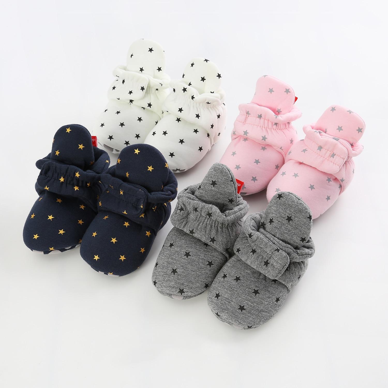 Romirus Baby First Walkers Soft Bottom zapatos para niños bebés zapatos para caminar zapatos para recién nacidos