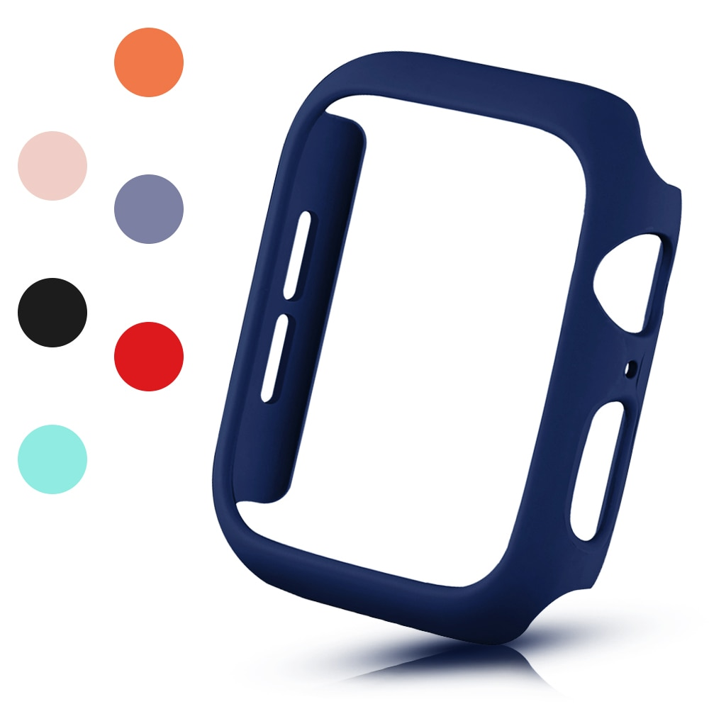 De moda mate funda protectora para Apple Watch SE cubierta Serie 6...