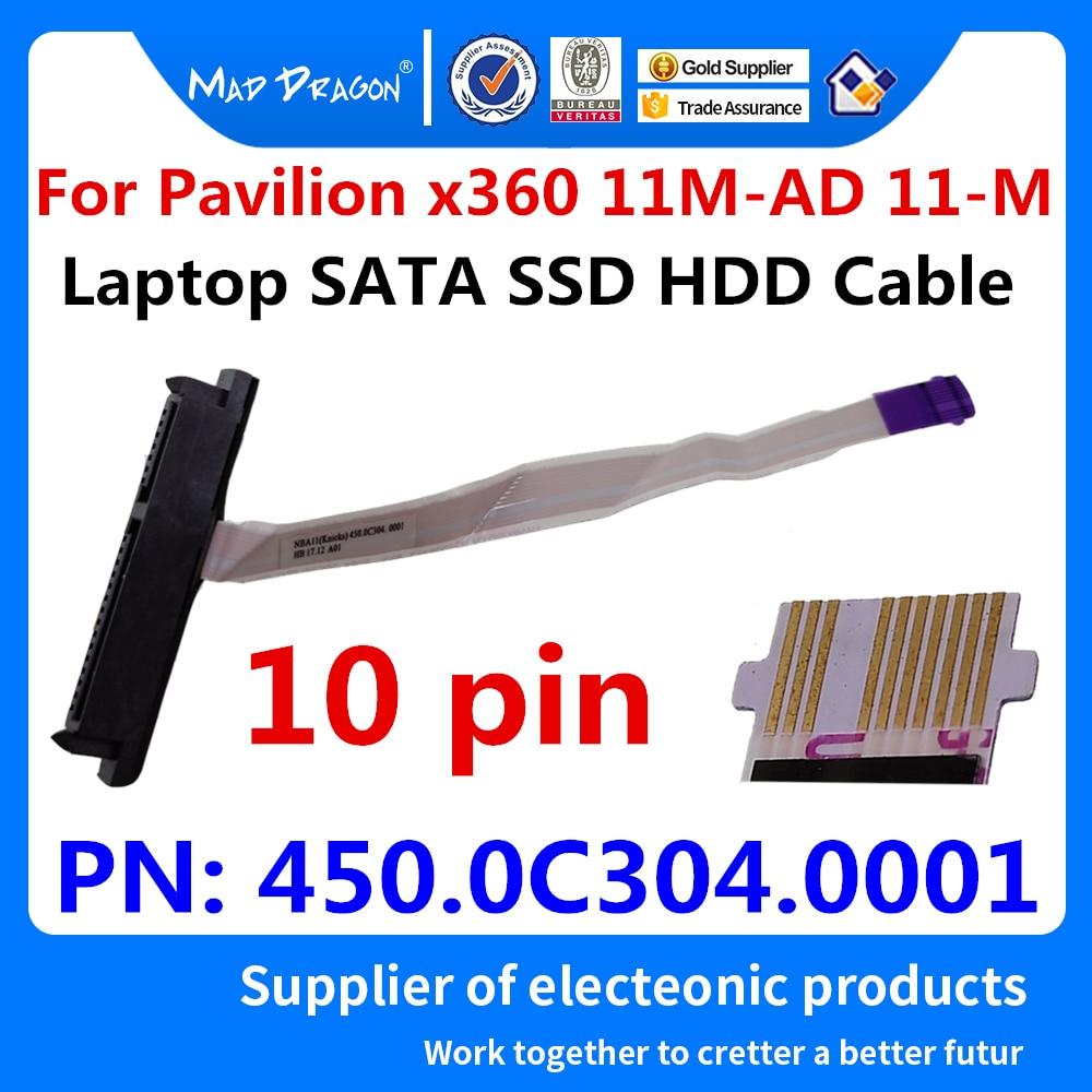 Nuevo conector original de cable de disco duro SATA SSD HDD para HP Pavilion x360 11M-AD 11-M 11m-ad013dx NBA11 450.0C304.0001