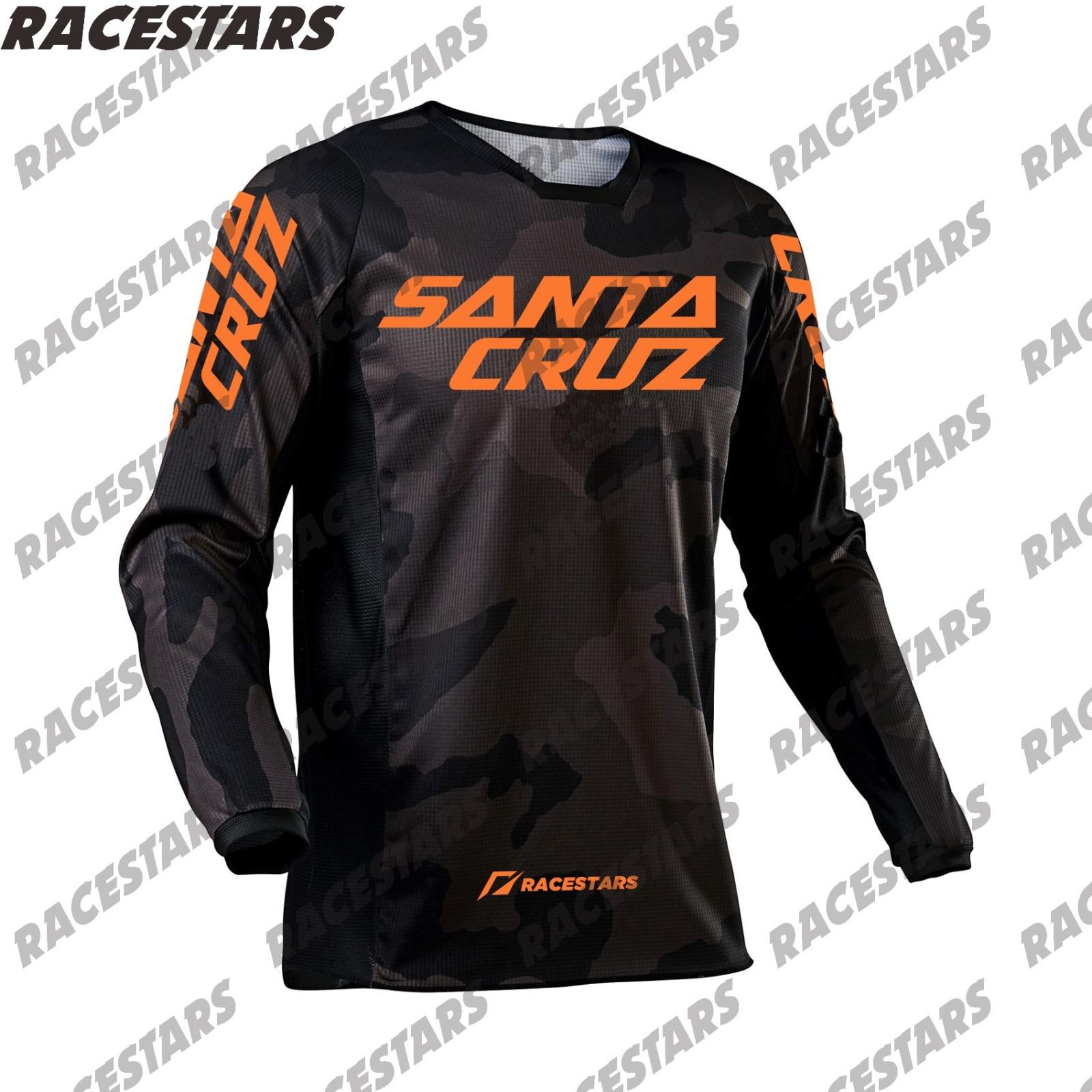Camiseta de Motocross Enduro de SANTA CRUZ para Hombre, Maillot de Ciclismo...