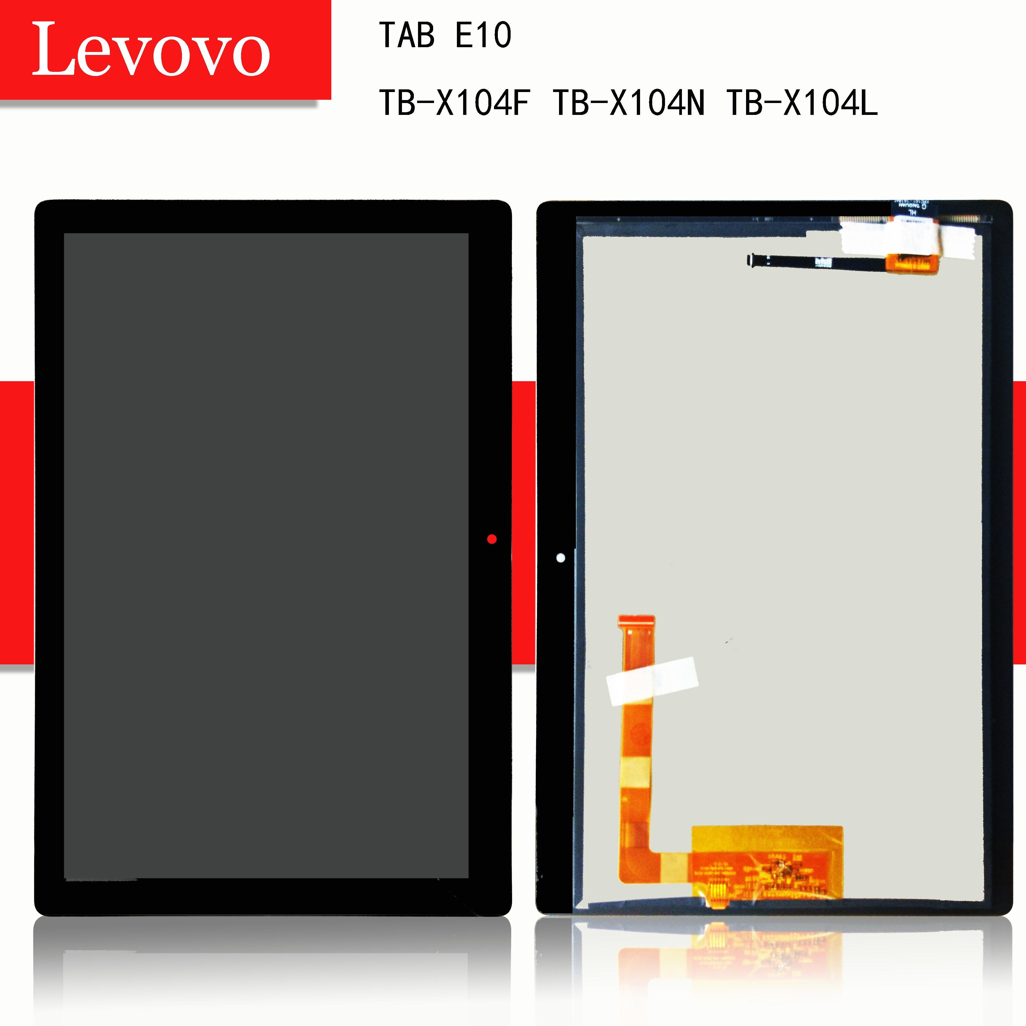 "10,1 ""para Lenovo TAB E10 E 10 TB-X104F TB-X104N TB-X104L TB X104 pantalla táctil digitalizador Lcd montaje de pantalla"