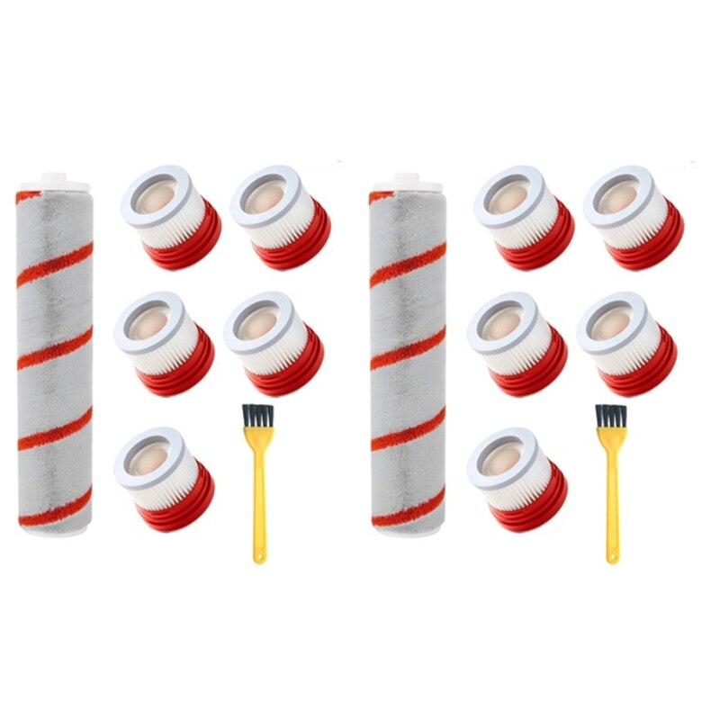 هيبا فلتر الأسطوانة فرشاة استبدال ل شاومي دريمي V9 V9P V10 يده مكنسة كهربائية الملحقات جزء أطقم