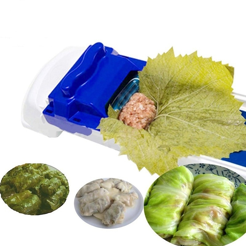 1pc Creative Vegetable Meat Rolling Tool For Machine Bar Cabbage Kitchen Roller Grape Gadget Dolma Leaf Sushi Stuffed New