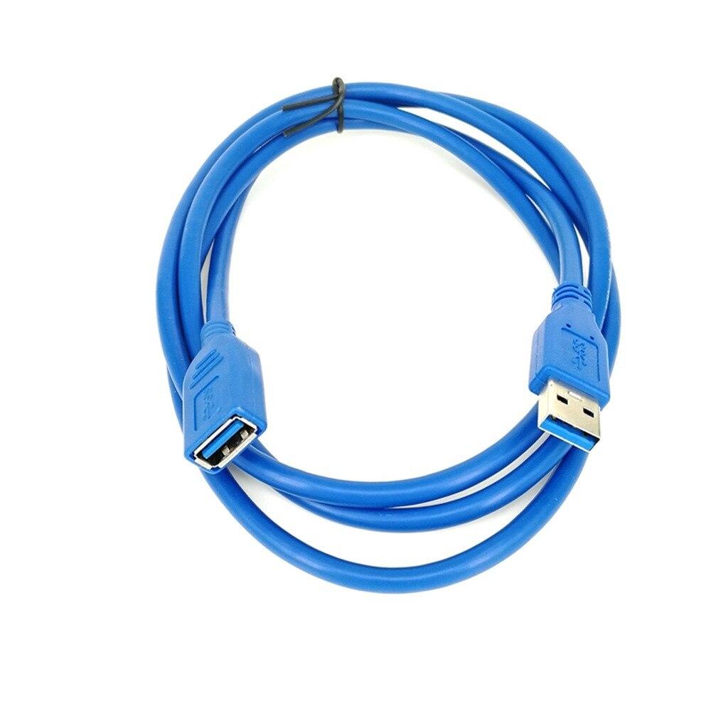 0,5/1/2/3/5M USB 3,0 extensión de macho A hembra Cable de sincronización de...