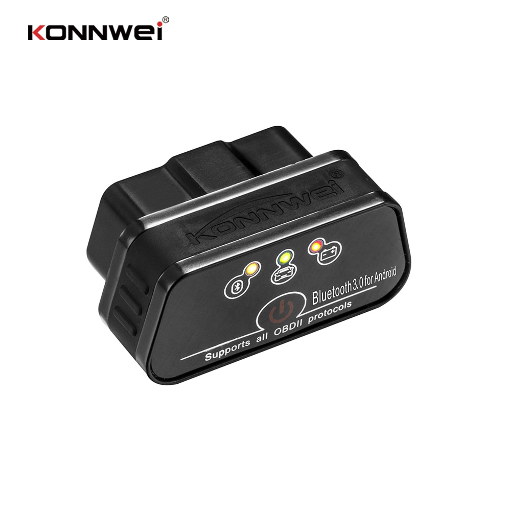 KW901 Bluetooth Elm327 Bluetooth Diagnostic Scanner Bluetooth Car Diagnostic Tool Android