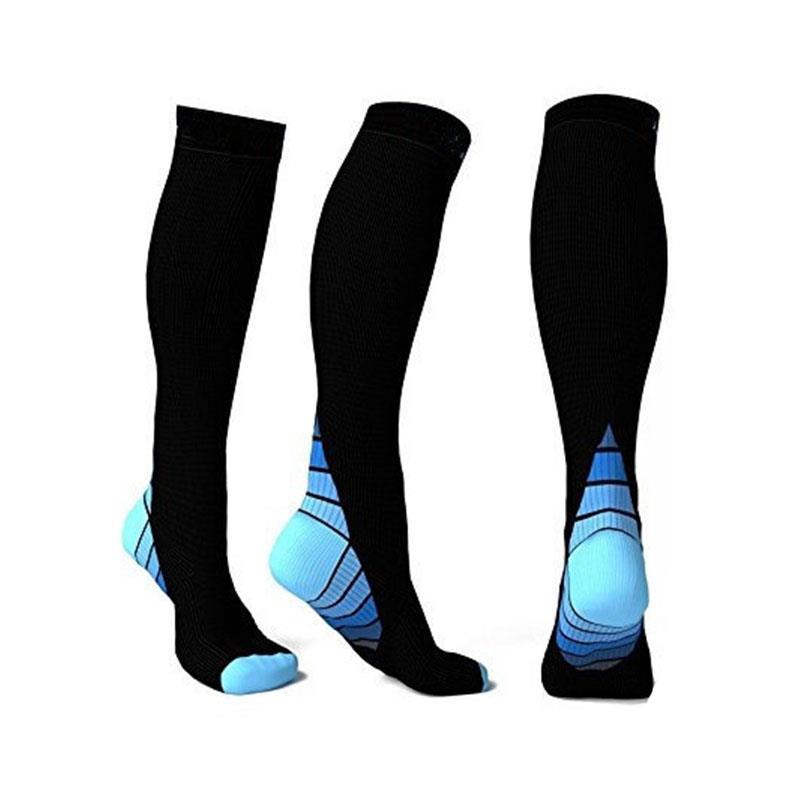High Quality Compression Anti-Reibung Socken Frauen Männer Im Freien Sport Socken Atmungsaktiv Konturierte Socken Für Unisex