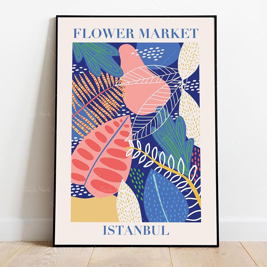 Cartel del mercado de las flores, cartel del mercado de las flores,...