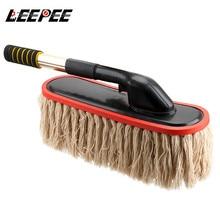 LEEPEE щетка для мытья автомобиля щетка для удаления пыли щетка для уборки вращающаяся Швабра телескопическая длинная ручка инструменты для чистки автомобиля аксессуары для автомобиля