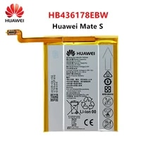 hua wei 100 orginal hb436178ebw 2700mah battery for huawei mate s mates crr cl00 ul00 replacement batteries