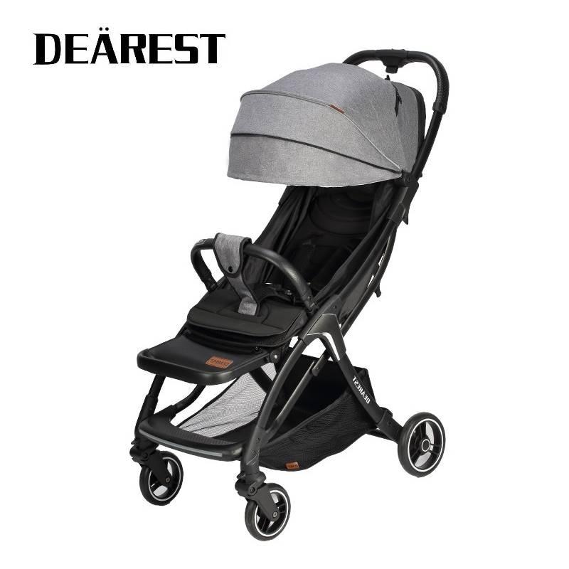 DEAREST A8L 2021 New Baby Stroller Wagon Portable Folding Baby Car Lightweight Pram Baby Carriage Travel Baby Pushchair enlarge