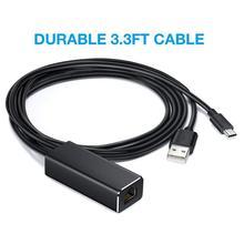 2019 nouveaux câbles numériques Ethernet adaptateur carte réseau pour Amazon USB Fire TV Stick Google Chromecast TF6 câble outils