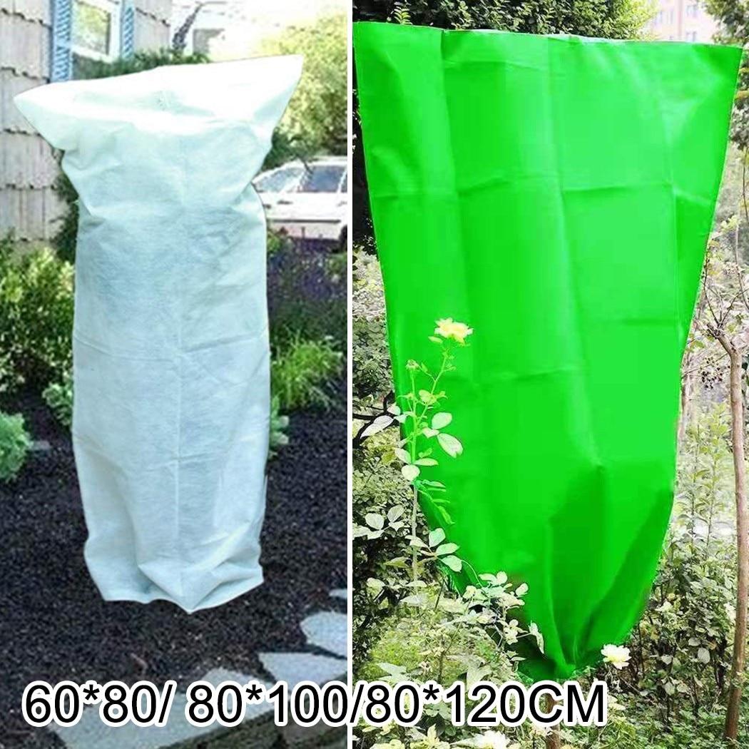 Чехол для садовых растений, теплый чехол для защиты от мороза, защита от оледенения, чехол для садовых растений и фруктов чехол