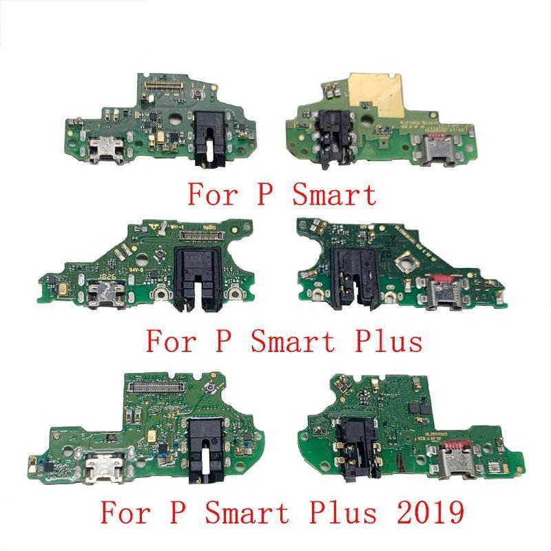 Original USB charging port holder port connector board flexible cable for Huawei P Smart 2018 2019 P Smart Plus 2018 2019 Z Pro