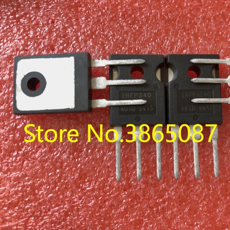 10 PCS IRFP9240 + 10 PCS IRFP240 PARA-247 N-CHANNEL P-CHANNEL MOSFET TRANSISTOR MOS 20 pçs/lote IRFP9240PBF IRFP240PBF ORIGINAL NOVA