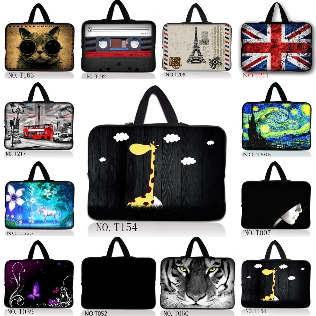 Saco do portátil notebook tablet handlebag carry manga capa bolsa bolsa para 11 11.6 12 13 13.3 14 14.1 15 15.4 15.6 inchs laptops