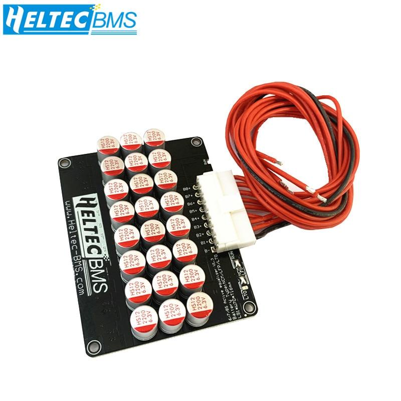 Heltec 6S 7S 8S 5A 6A نشط التعادل موازن/8s المعادل Lifepo4 ليثيوم ليبو LTO لوحة نقل الطاقة صالح مكثف