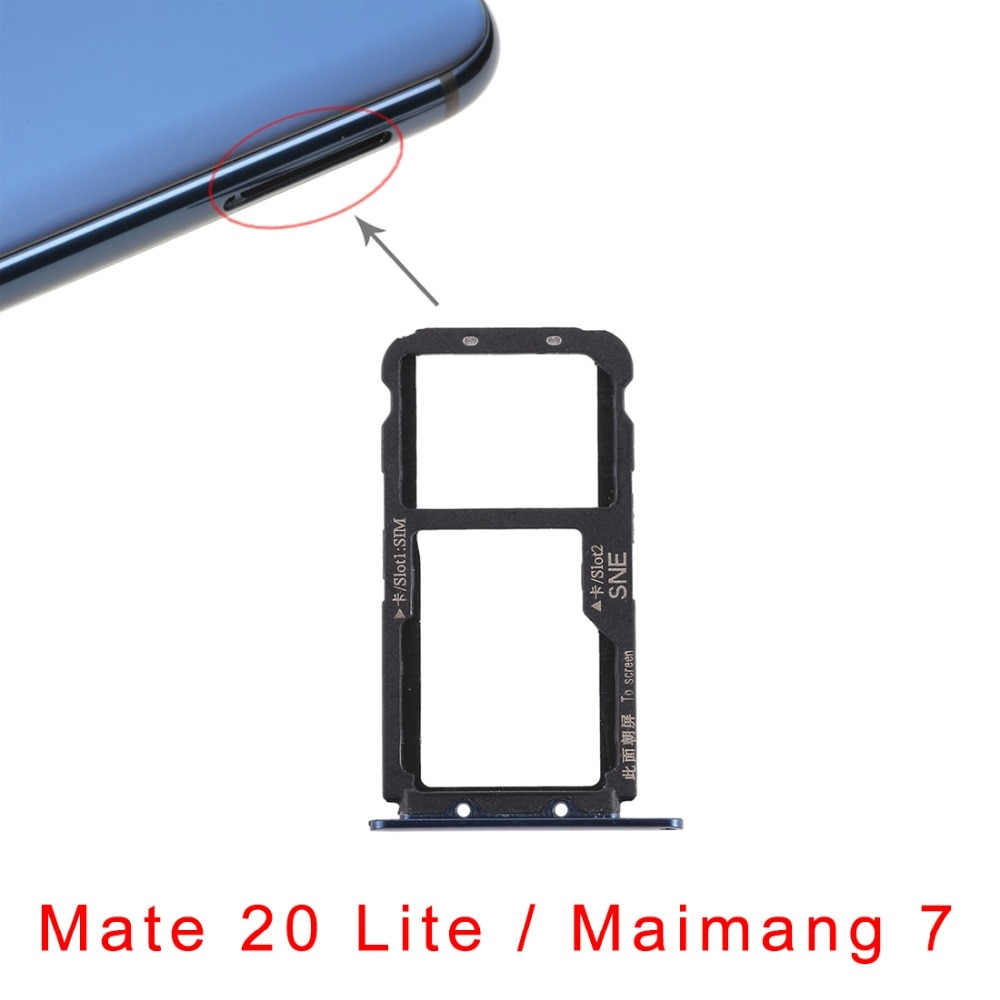 5pcs/lot SIM Card Tray for Huawei P smart +  Nova 3iMate 20 Lite  Maimang 7 enlarge