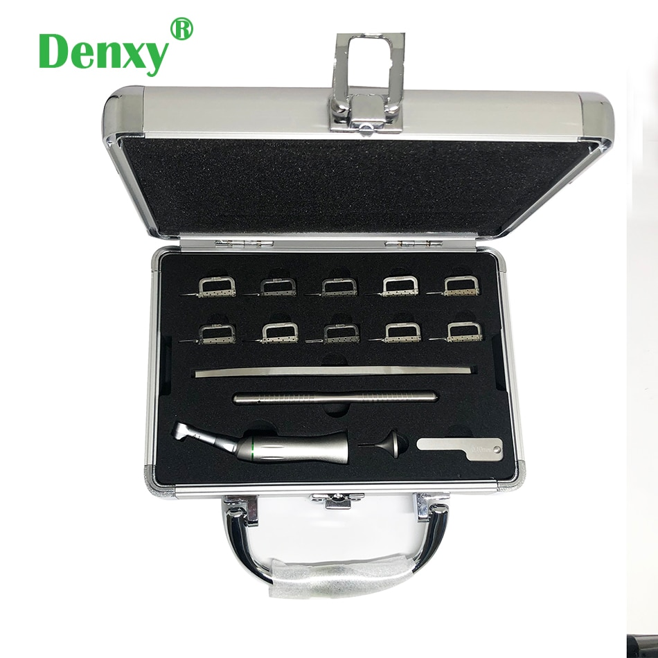 Denxy 1 مربع الأسنان تقويم الأسنان Interproximal المينا تخفيض الترددية نظام حقوق تجريد كونترا زاوية تقويم الأسنان أداة