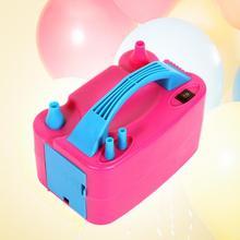 Pompe électrique Portable Double trou pour gonflage ballons   Compresseur dair buse à prise ue/US, pompe électrique gonflable pour ballons, souffleur dair