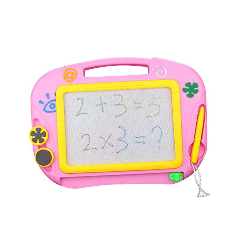 Mini boceto magnético no tóxico, tablero de dibujo, juguete educativo con bolígrafo, tableta, juguetes coloridos para niños