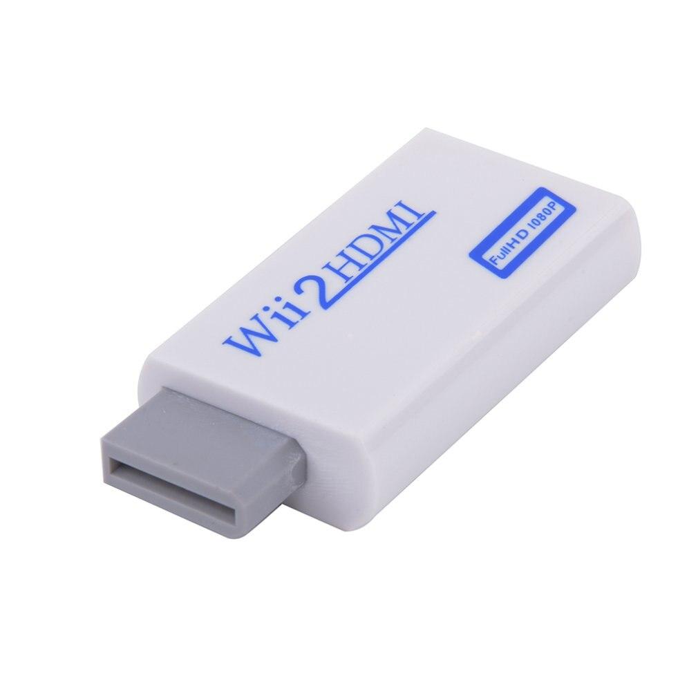 Wii к HDMI конвертер Поддержка FullHD 720P 1080 3,5 мм аудио wii 2HDMI адаптер для HDTV