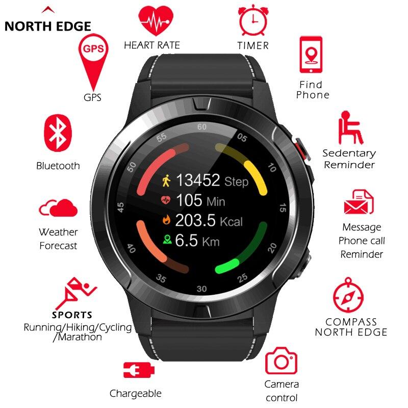 Smart Watch GPS Bluetooth-compatible  Smartwatch Men Women IP67 Waterproof Heart Rate Blood Pressure Monitor enlarge