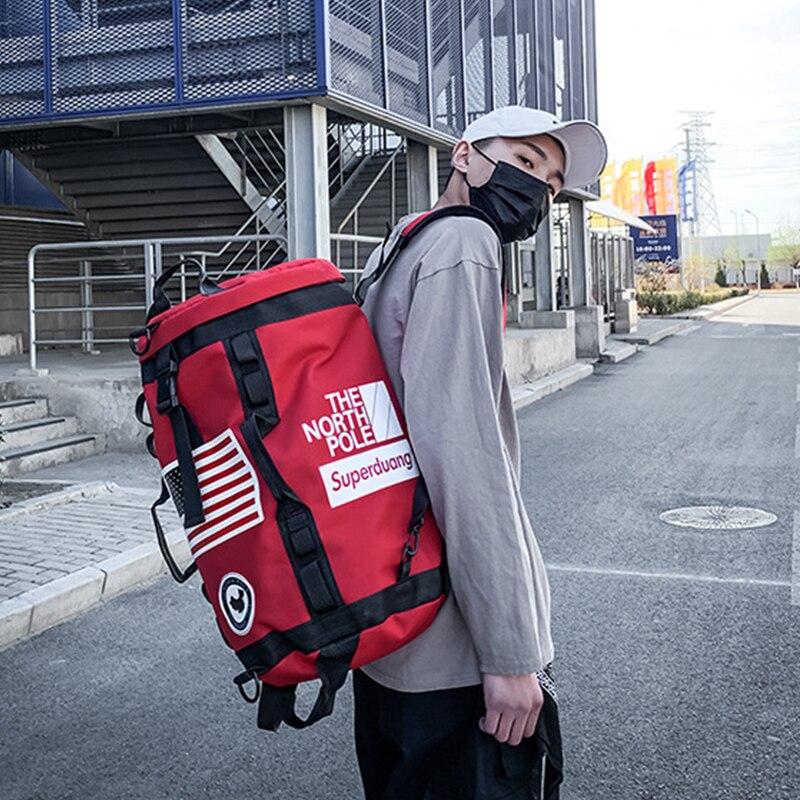 Gym Backpack Gym Duffle Bag Sport Basketball Backpack Sportsbag for Women Fitness Lovers Travel Mochila Yoga Shoulder Bag 2021
