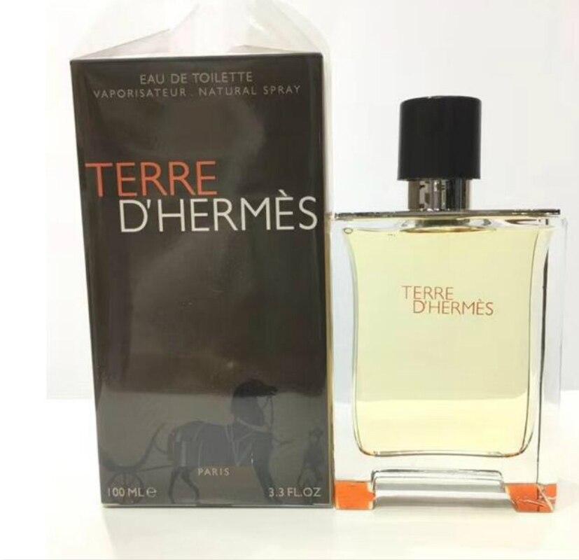 100ml nueva marca de Perfume para hombres de larga duración Parfum masculino francés Spray botella de vidrio hombre fresco clásico colonia madera antitranspirante