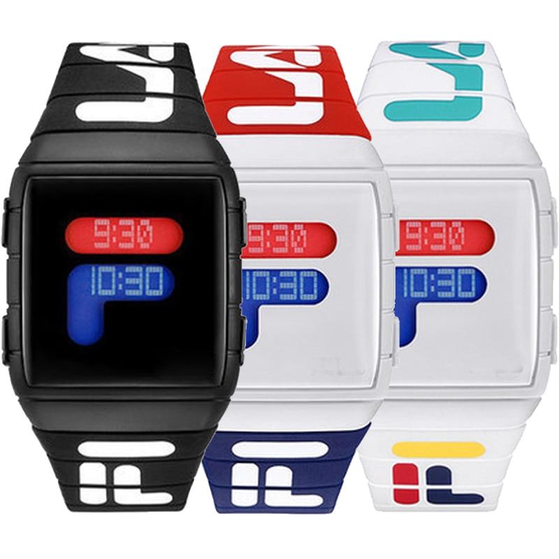 Reloj deportivo de silicona para hombres y mujeres, cronógrafo de pulsera de...